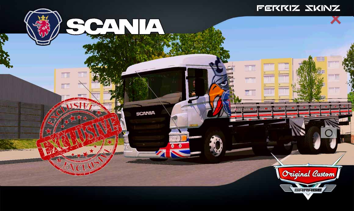 SCANIA P310 – SKINS WTDS