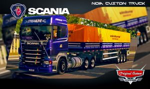 SKINS WORLD TRUCK DRIVING SIMULATOR - SCANIA R460