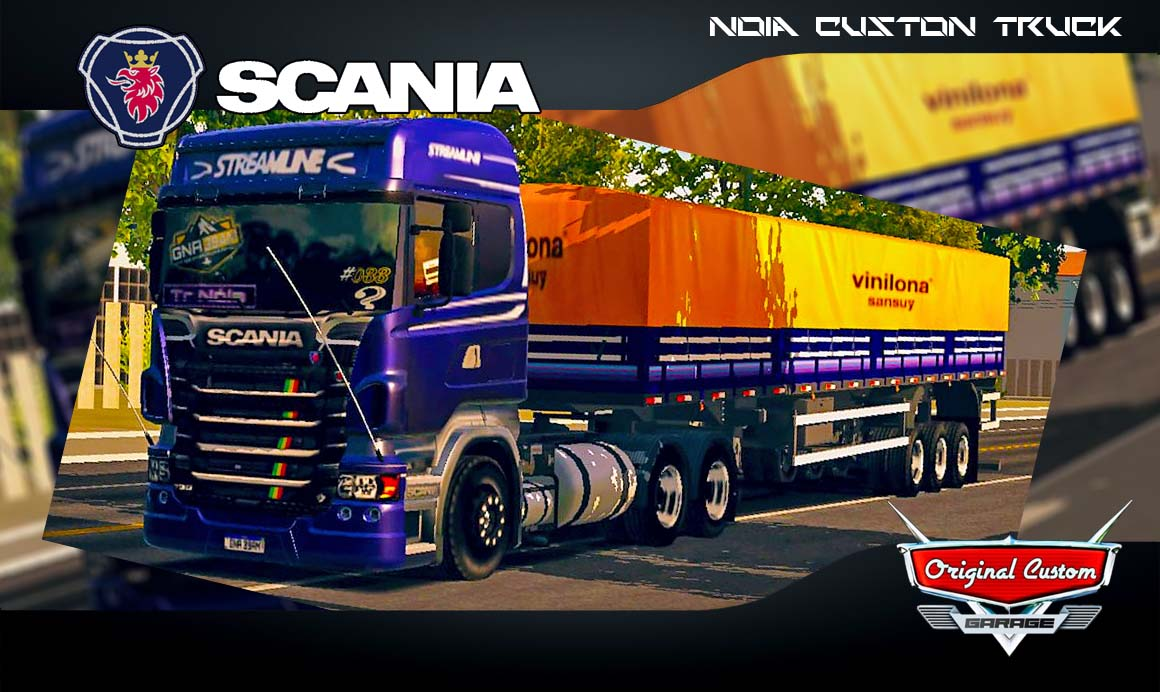 SKINS WORLD TRUCK DRIVING SIMULATOR – SCANIA R460