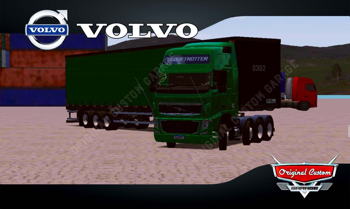 SKINS WORLD TRUCK DRIVING SIMULATOR – VOLVO COM SIDER