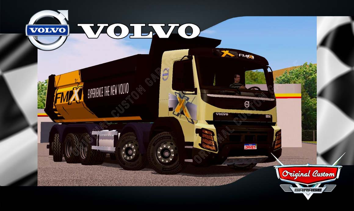 SKINS WORLD TRUCK DRIVING SIMULATOR – VOLVO FMX