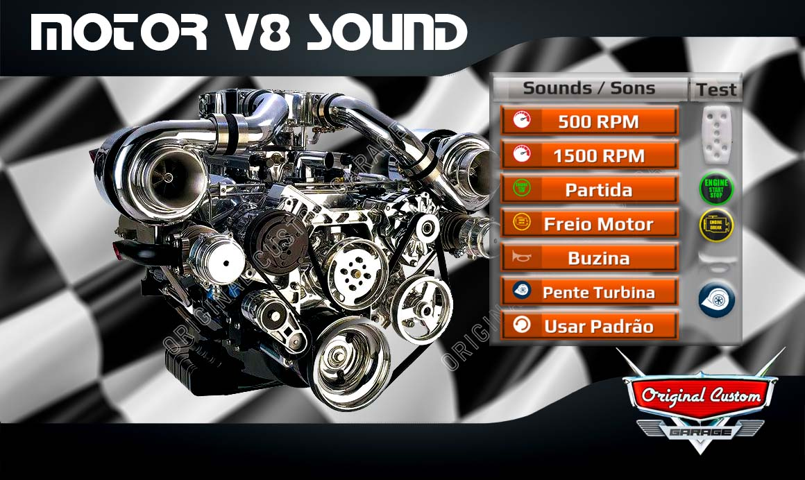 WORLD TRUCK DRIVING – SOM/SOUND MOTOR V8