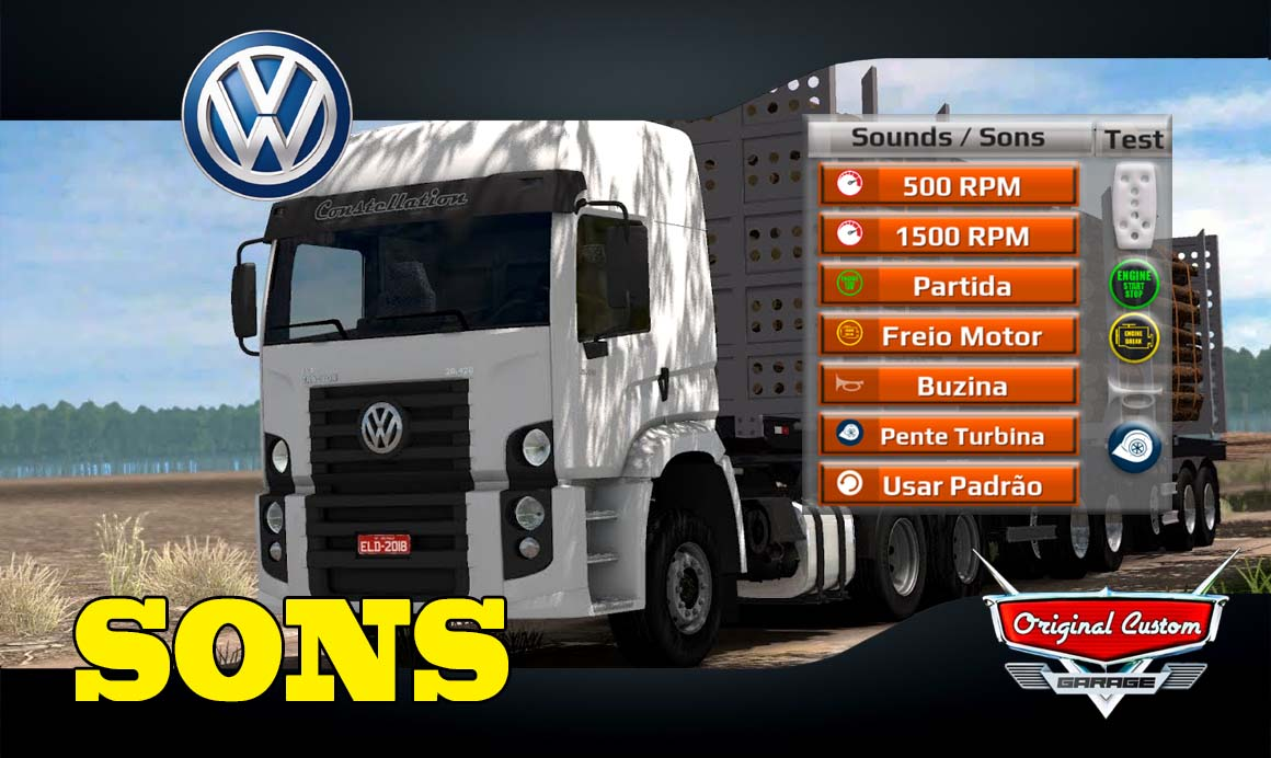 WORLD TRUCK DRIVING SIMULATOR – CONSTELLATION SONS