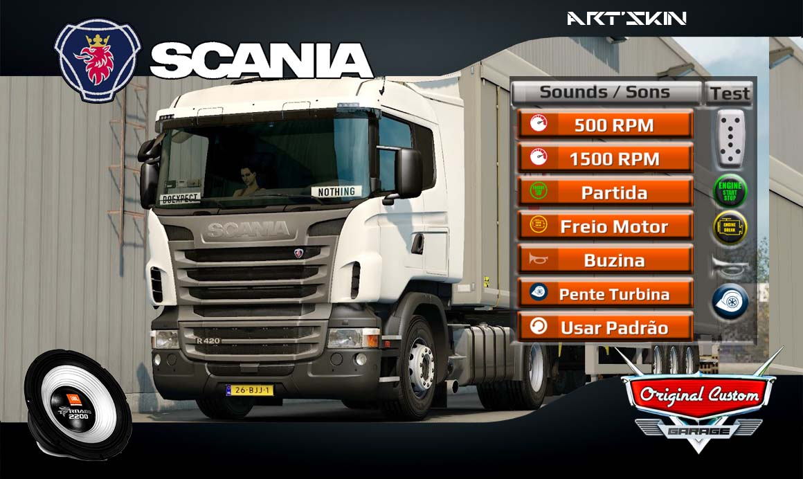 WORLD TRUCK DRIVING SIMULATOR – SCANIA R420 SONS