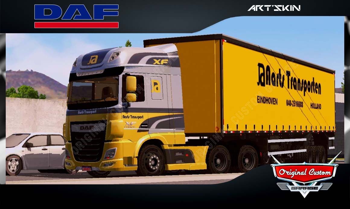 SKINS WORLD TRUCK DRIVING – DAF XF JA