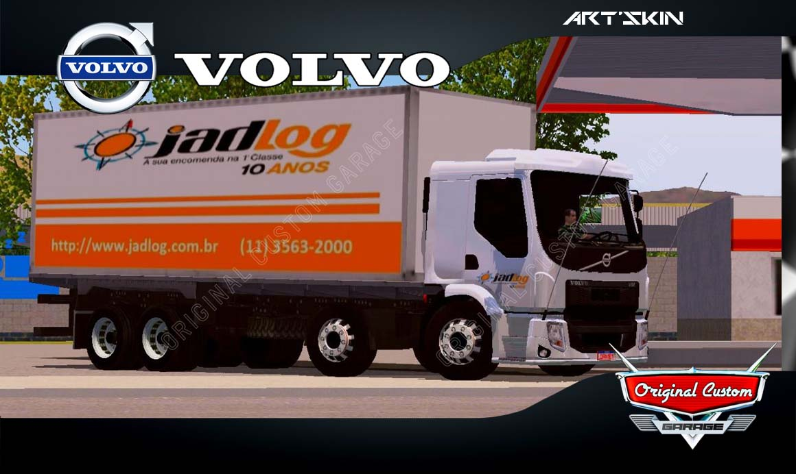 SKINS WORLD TRUCK DRIVING SIMULATOR – VOLVO VM JADLOG