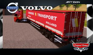 SKINS WORLD TRUCK DRIVING SIMULATOR - VOLVO CREMES TRANSPORT