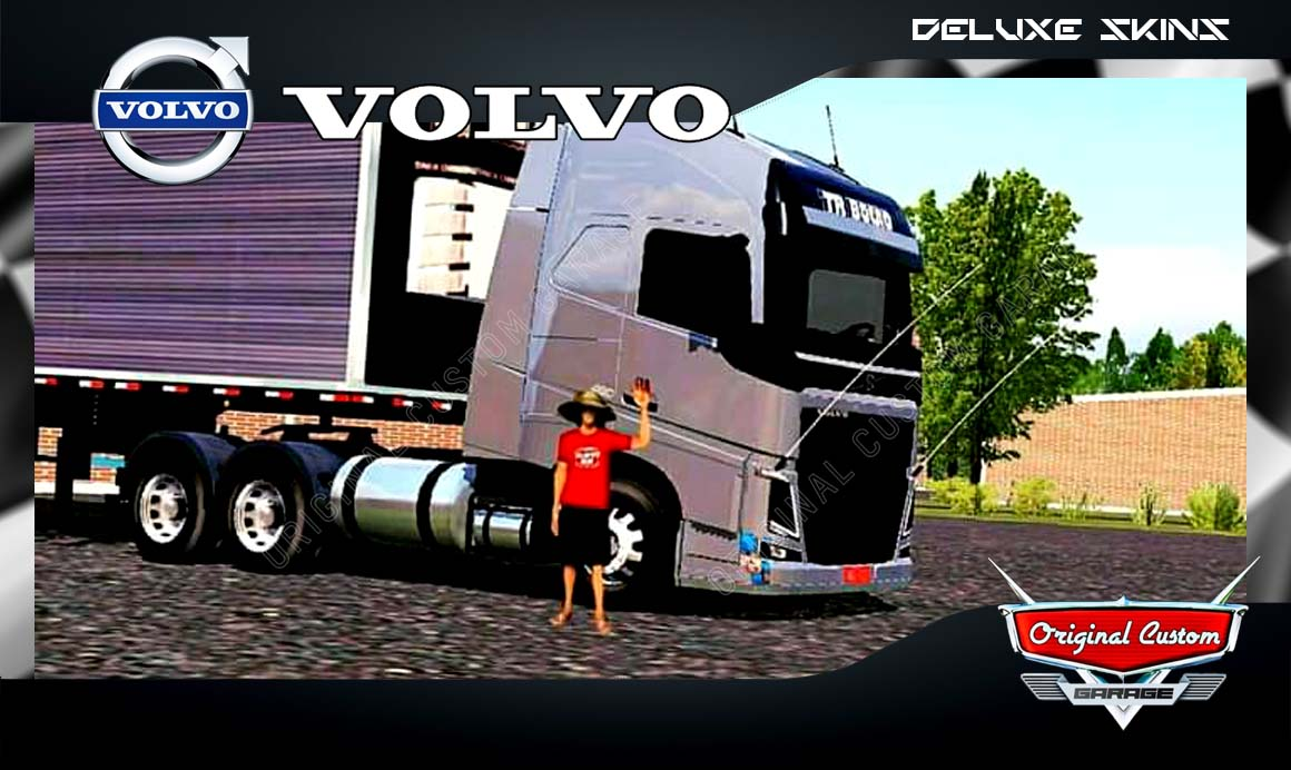SKINS WORLD TRUCK DRIVING SIMULATOR – VOLVO TR BOCÃO
