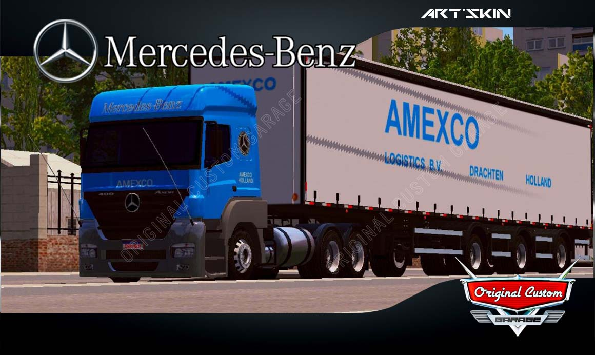 SKINS WORLD TRUCK DRIVING – AXOR AMEXCO