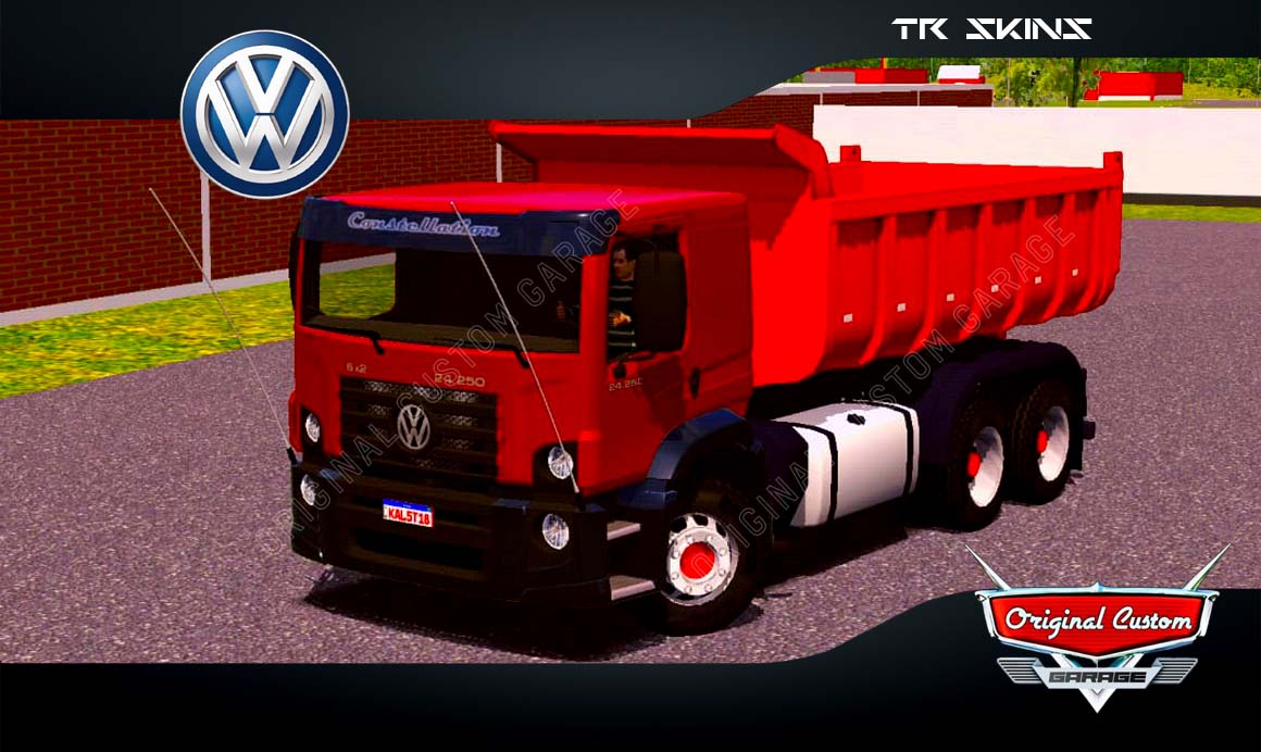 SKINS WORLD TRUCK DRIVING SIMULATOR – CONSTELLETION TR