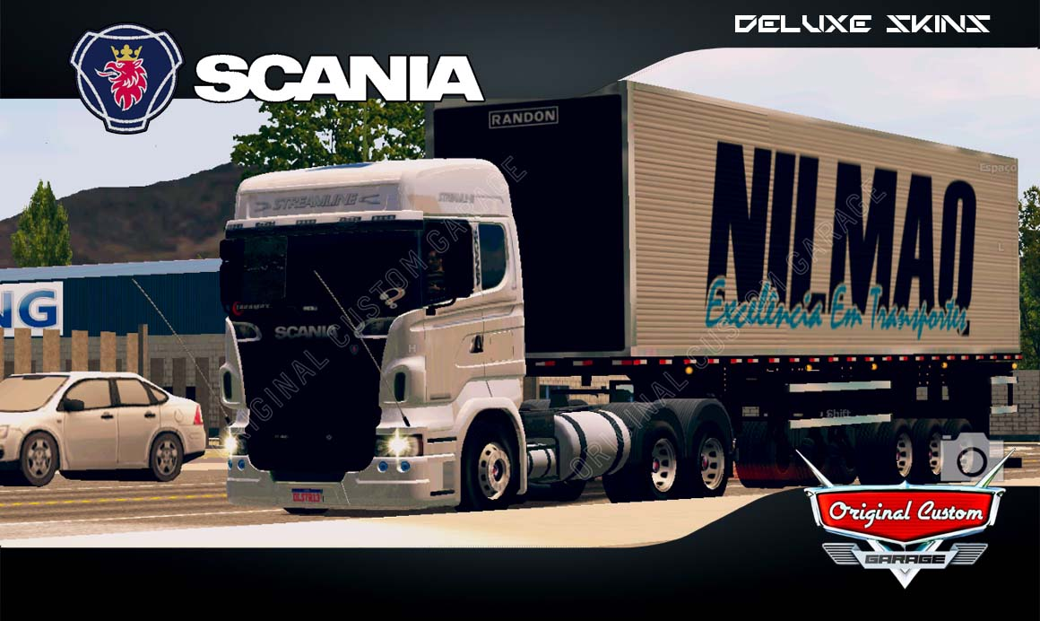 SKINS WORLD TRUCK DRIVING – SCANIA R480 STREAMLINE