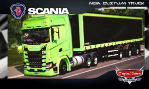 SKINS WORLD TRUCK DRIVING - SCANIA S730 verde