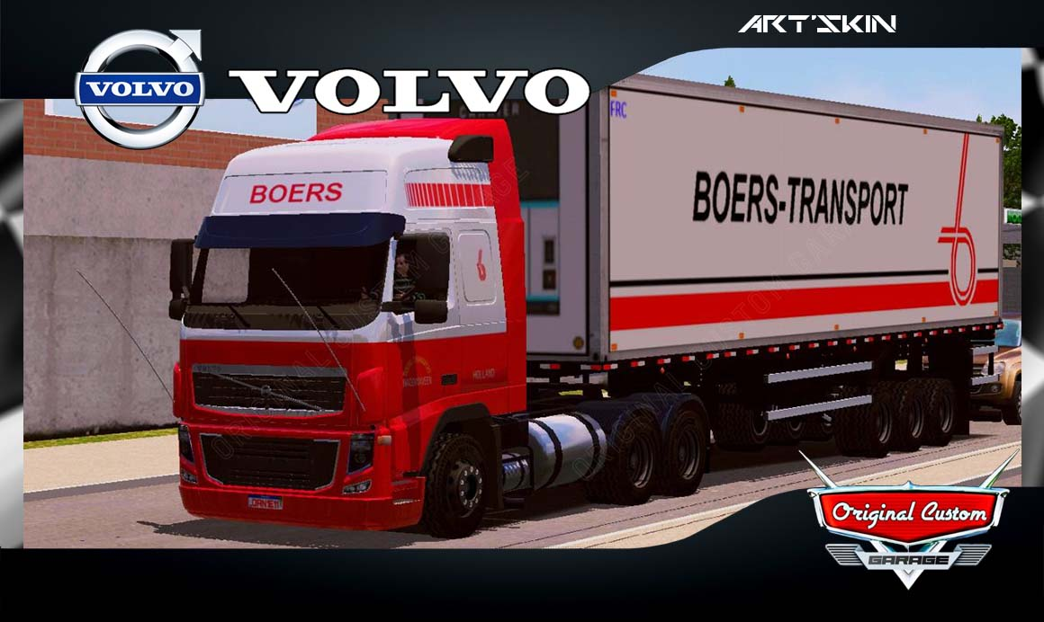 SKINS WORLD TRUCK DRIVING SIMULATOR – VOLVO BOERS