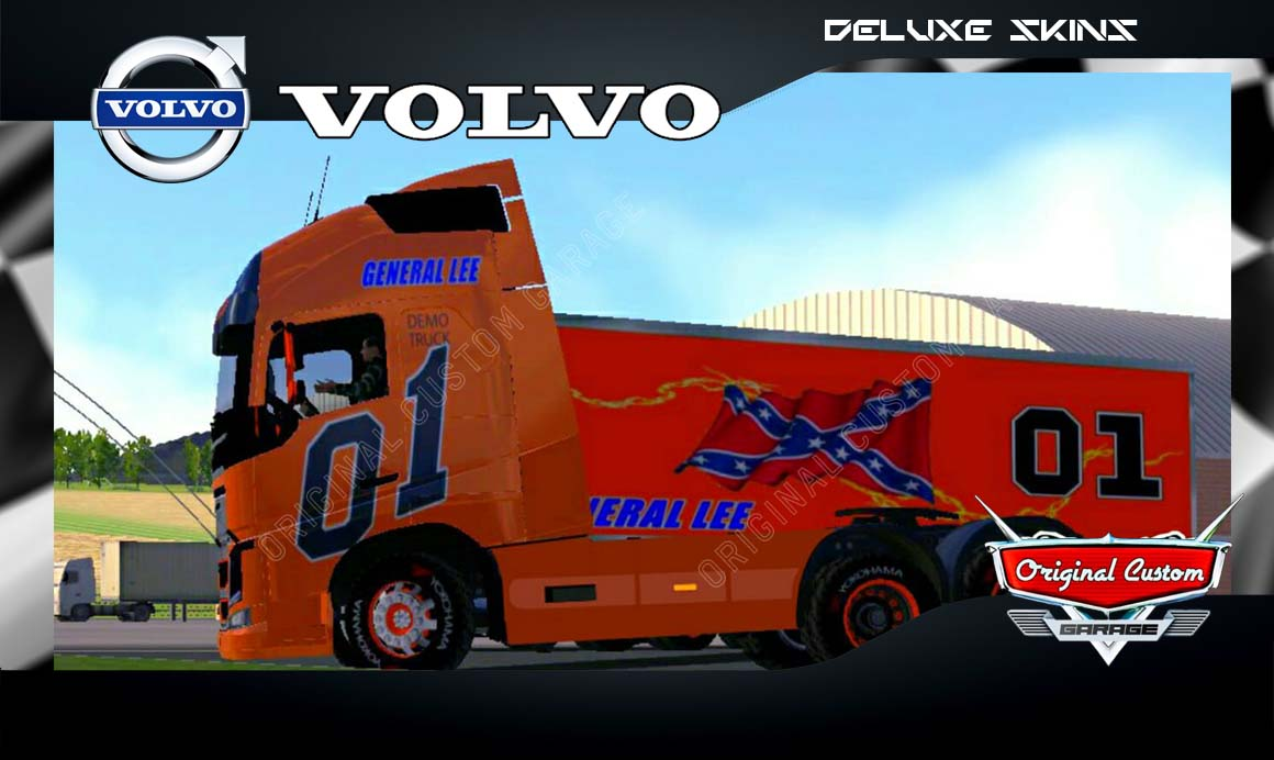 SKINS WORLD TRUCK DRIVING SIMULATOR – VOLVO FH GENERAL LEE