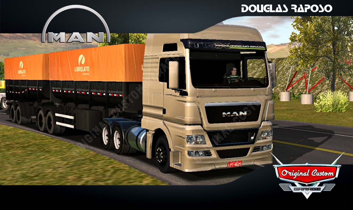 SKINS WORLD TRUCK DRIVING – MAN TGX LIBELATO