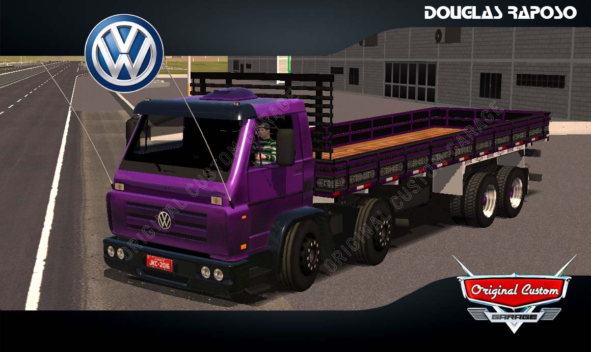 SKINS WORLD TRUCK DRIVING SIMULATOR – TITAN ROXO