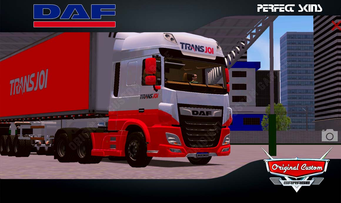 SKINS WORLD TRUCK DRIVING – DAF XF TRANS JOI