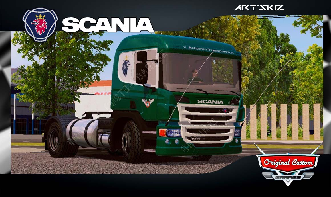 WORLD TRUCK DRIVING – SCANIA P310 VERDE