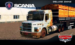 SKINS WORLD TRUCK DRIVING - SCANIA 112H