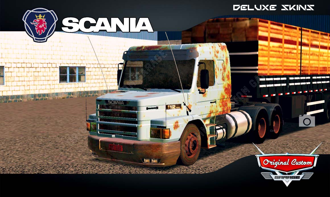 SKINS WORLD TRUCK DRIVING – SCANIA 112H