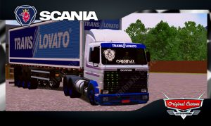 SKINS WORLD TRUCK DRIVING - SCANIA TRANS LOVATO