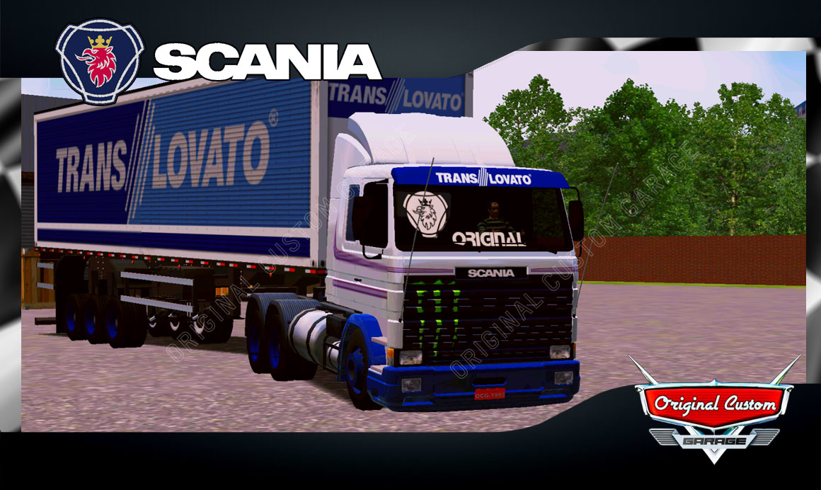 SKINS WORLD TRUCK DRIVING – SCANIA TRANS LOVATO