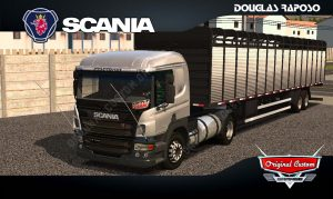 SKINS WORLD TRUCK DRIVING - SCANIA P310 REALISTA