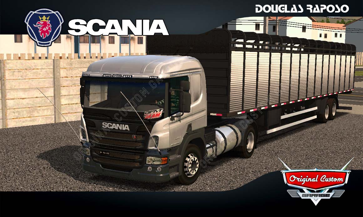 SKINS WORLD TRUCK DRIVING – SCANIA P310 REALISTA
