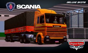 SKINS WORLD TRUCK DRIVING - SCANIA 113 RELÍQUIA