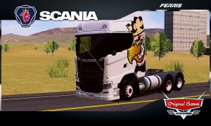 SKINS WORLD TRUCK DRIVING - SCANIA S730