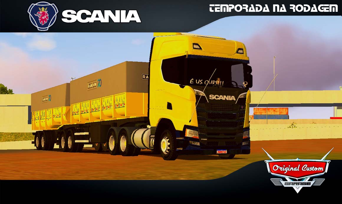 SKINS WORLD TRUCK DRIVING – SCANIA S RONDON