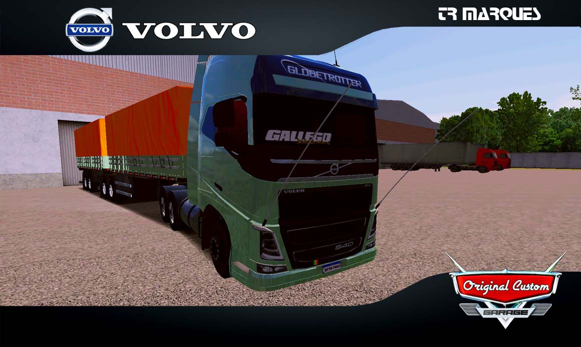SKINS WORLD TRUCK DRIVING  – VOLVO FH VERDE