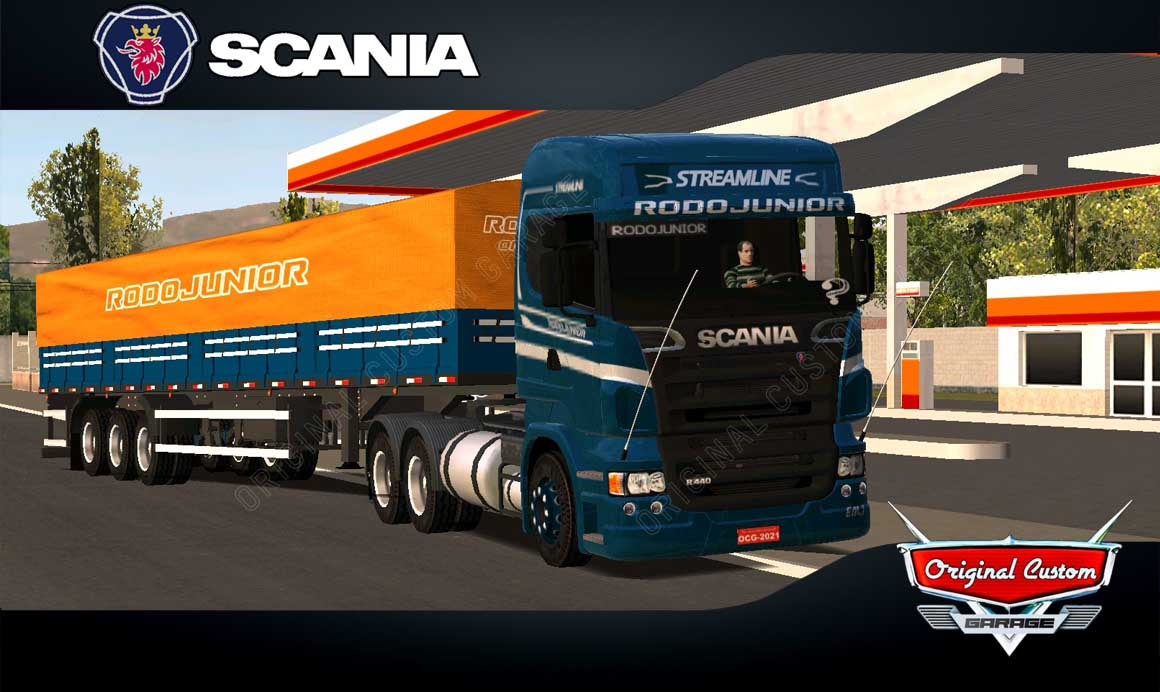 WORLD TRUCK DRIVING – SCANIA RODOJUNIOR GRANEL