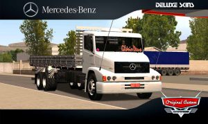 SKINS WORLD TRUCK DRIVING  - MB 1620 BABY SHARK - SKINS WTDS.