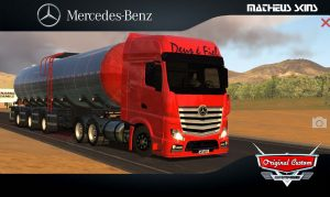 SKINS WORLD TRUCK DRIVING - NEW ACTRO