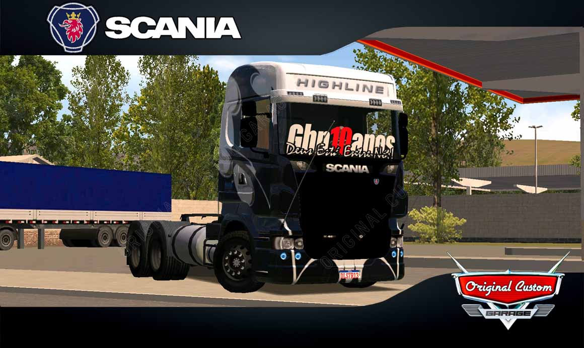 WORLD TRUCK DRIVING – SCANIA R GRAFITADO
