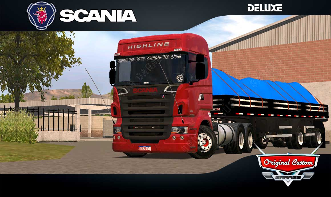 WORLD TRUCK DRIVING – SCANIA R VANDERLEIA