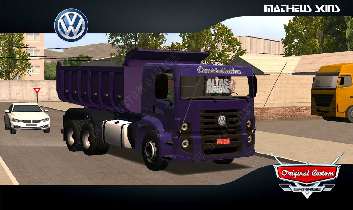 SKINS WORLD TRUCK DRIVING SIMULATOR – CONSTELLETION ROXO