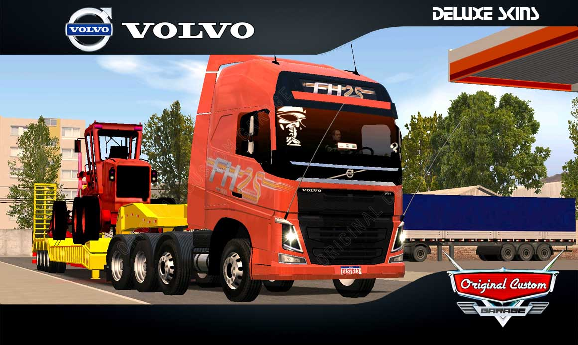 SKINS WORLD TRUCK DRIVING  – VOLVO FH 25 anos