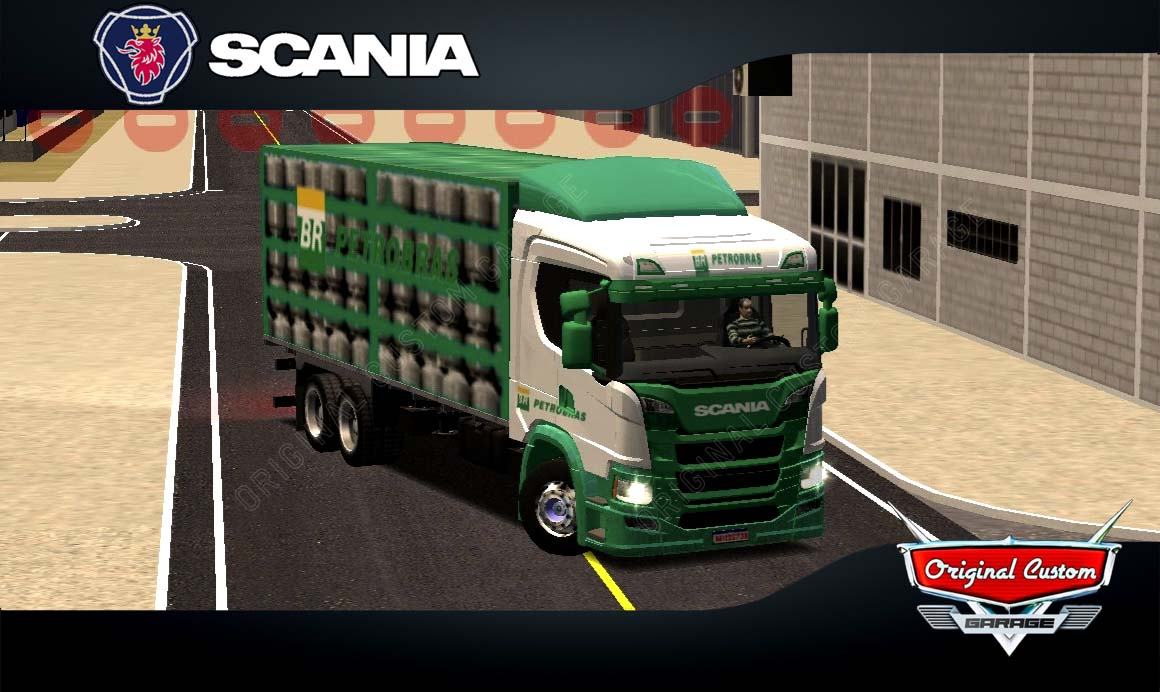 SKINS WORLD TRUCK DRIVING – SCANIA P320 PETROBRAS