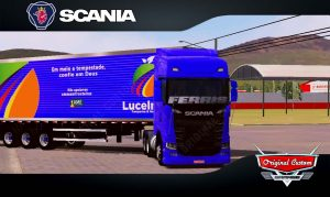SKINS WORLD TRUCK DRIVING - SCANIA S LUCELMAR