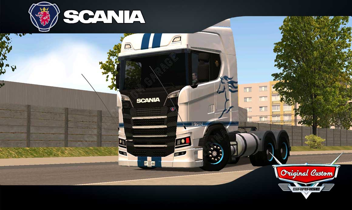 SKINS WORLD TRUCK DRIVING – SCANIA S MUSTANG