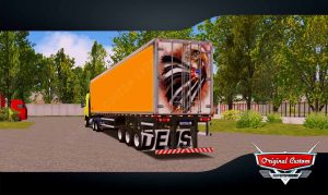 SKINS WORLD TRUCK DRIVING - BAÚ GUERRA