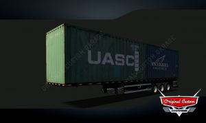 SKINS WORLD TRUCK DRIVING - CONTRAINERS NYS UASC