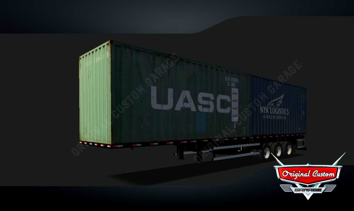 SKINS WORLD TRUCK DRIVING – CONTRAINERS NYS UASC