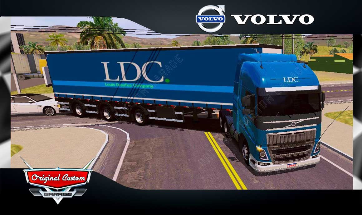 SKINS WORLD TRUCK DRIVING – VOLVO FH LDC