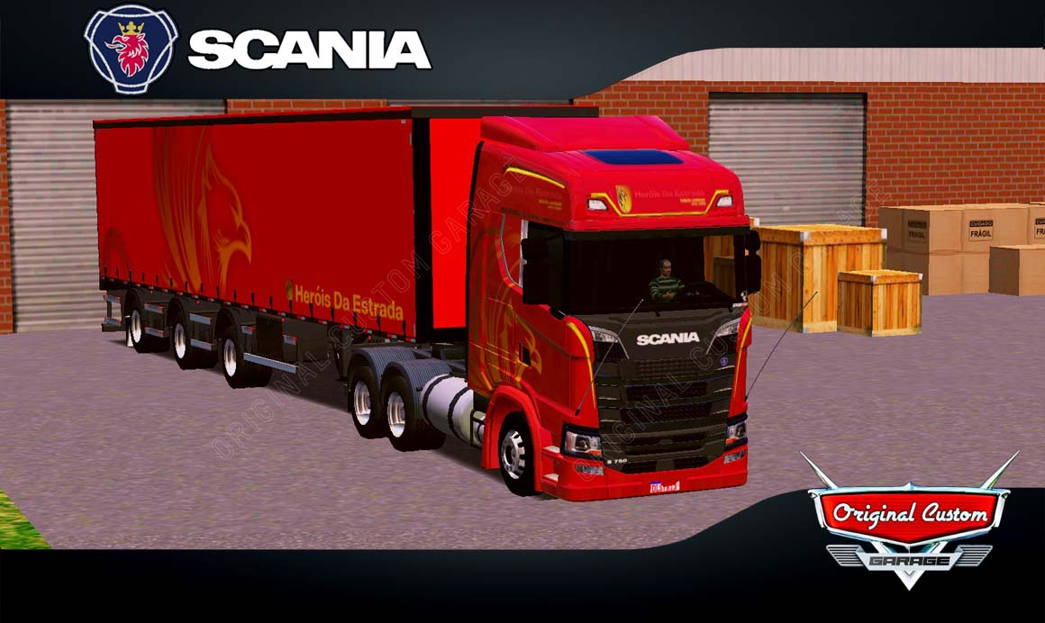 SKINS WORLD TRUCK DRIVING – SCANIA S SIDER HEROIS