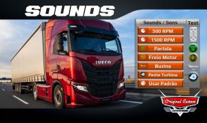 IVECO S-WAY WTDS SONS SOUNDS WORLD TRUCK DRIVING SIMULATOR