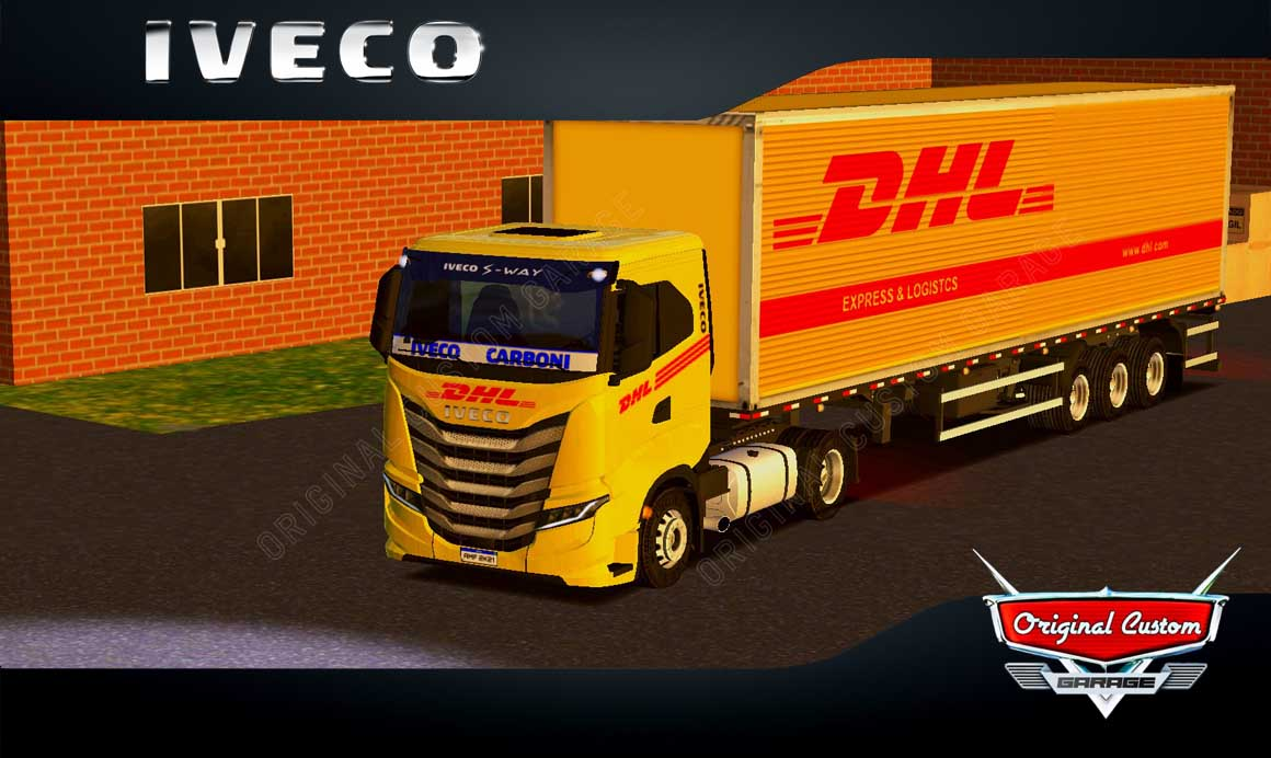 SKINS WORLD TRUCK DRIVING – IVECO S-WAY DHL