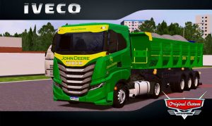 SKINS WORLD TRUCK DRIVING - IVECO S-WAY JHON DEERE
